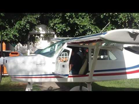 Primeira Aula de pilotagem de ultraleve do David