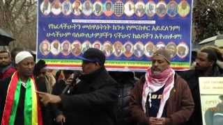 Abebe Belew's speech in solidarity with the Ethiopian Muslims movement in Washington DC
