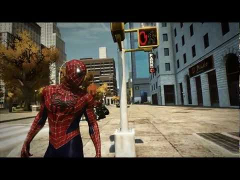 The Amazing Spider-Man PC Game - Raimi Classic Red & Blue Suit Mod - H1Vltg3