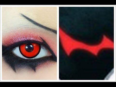 Anime Eyes Makeup Cosplay Tutorial Anime Eye Makeup 74