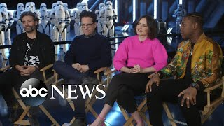 'Star Wars' stars talk about ending the legendary saga, 'deep love' between co-stars | Nightline