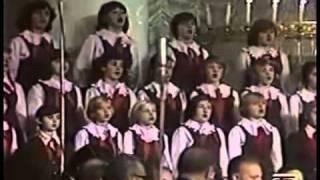 Ave Satani sung by children's choir