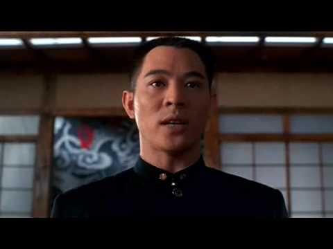 Fist Of Legend - Jet Li (chen Zhen) Dojo Fight Hq video