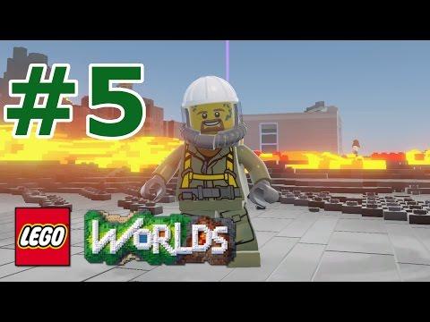 LEGO Worlds: Story Mode Walkthrough: Part 5 - Volcano Explorer