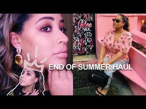 FALL 2018 CLOTHING & ACCESSORIES HAUL | ASOS, BAUBLEBAR, TOPSHOP, & MORE
