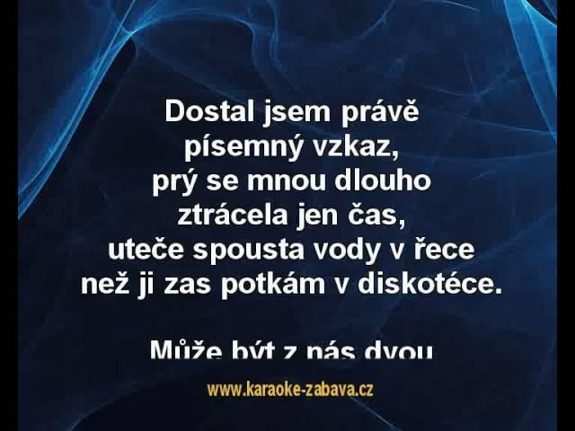 Michal David - Céčka, sbírá céčka (karaoke z www.karaoke-zabava.cz)