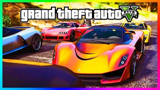 "GTA 5 NEW Fastest Car ""PROGEN T20"" - Is It The Best Super Car In GTA Online?!? (GTA 5 DLC)"
