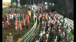 Radhe Raas Garba, Ahmedabad - 2011 - Rajdeep Barot, Vanita Barot - Day 1 Part 3