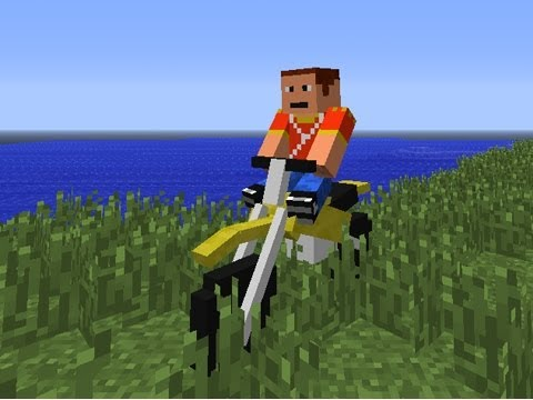 Minecraft DIRTBIKE Mod   Episode 1023