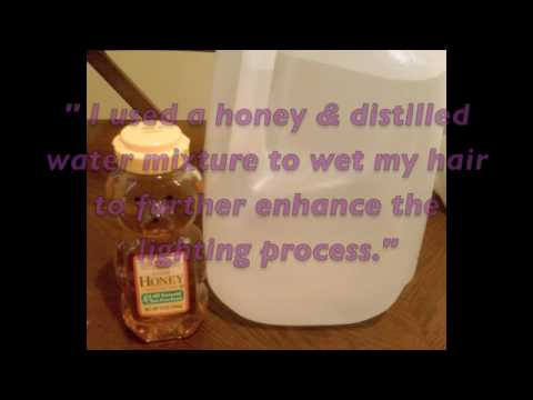 Naturally Lighten Hair with Honey