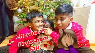 Christmas Photoshoot FAIL | I am Harjin