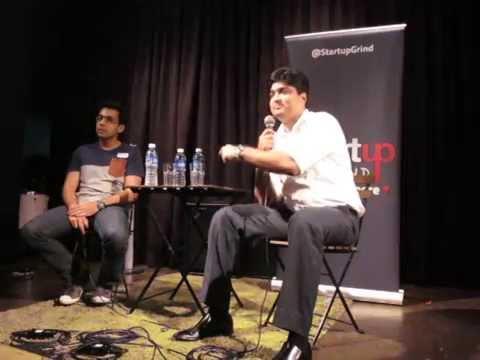 Mohan Belani, (e27) at StartupGrind Singapore
