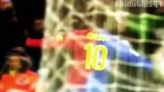 Lionel Messi 2009 Top 10 Goals
