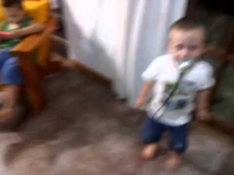 Ataque de ira de un niño