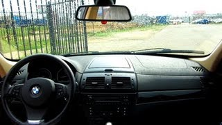 2008 БМВ X3. Тест Драйв.