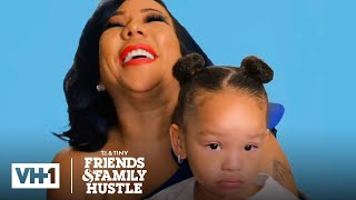 The Harris Family Comes Together for Dinner | T.I. & Tiny: Friends & Family Hustle