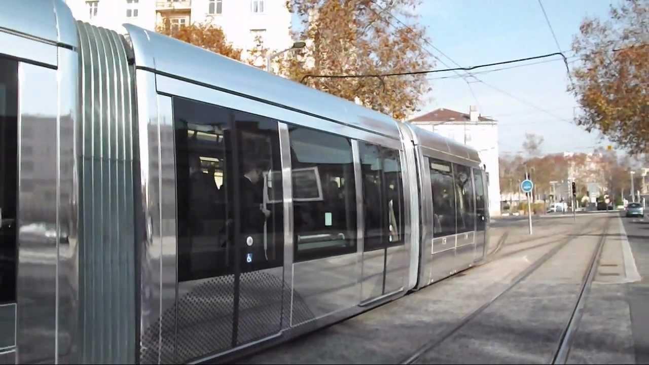 Tramway t5 de lyon inauguration et mise en service youtube for Garage lyon ouvert samedi
