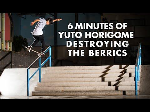 6 Minutes Of Yuto Horigome Destroying The Berrics