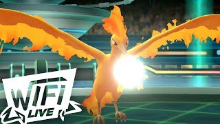 Pokemon Let's Go Pikachu & Eevee Wi-Fi Battle: Moltres Brings The HEAT! (1080p) Draft League!