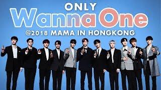 Wanna One at 2018 MAMA in HONG KONG | All Moments