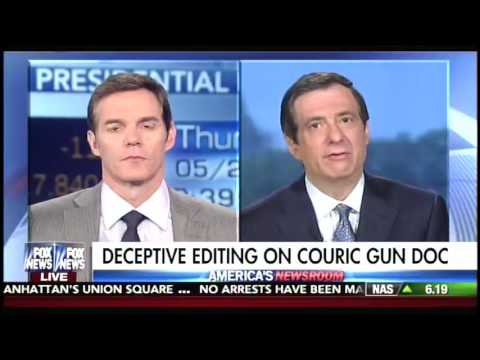 Fox News media analyst Howard Kurtz slams Katie Couric for deceptive editing in gun documentary