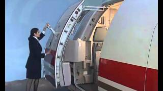 AIRBUS Normal Door Opening And Closing Operation (Outside)