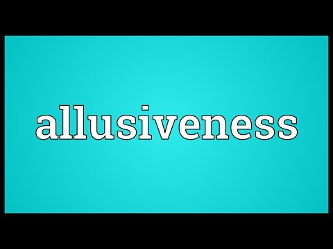 Header of allusiveness