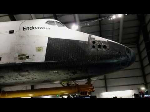 Space Shuttle Endeavour Walkaround at the California Science Center