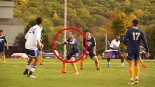 The Storm King School's soccer player Daniel Amandi