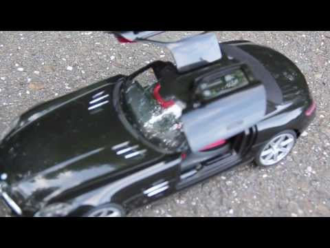 Silverlit Bluetooth RC Mercedes Benz SLS AMG Car.  Interactive RC Car Review