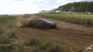 Rally Country - Opel Insignia Country Tourer on Rally Track