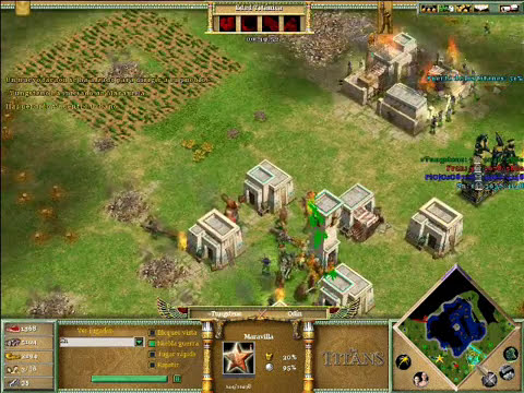 Age of Mythology The Titans x Hamachi: Hades & Odin VS Isis & Hades - Parte 4/4