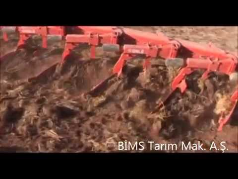 Çekilir Tip Otomatik Pulluk Ünlü Pulluk BİMS Tarım Makineleri