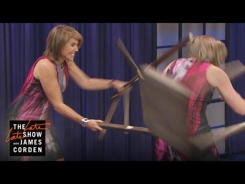 Katie Couric Beats Herself Up