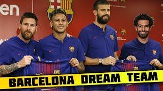 FC Barcelona DREAM Team Lineup 2018-19 With Potential TRANSFERS ft. Neymar Salah Griezmann Messi