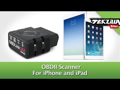 Plug Your iPhone Into Your Car's Computer! OBDII Scanner for iOS - SEMA 2013