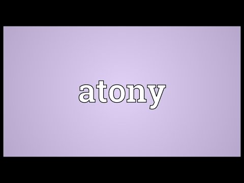 Header of atony