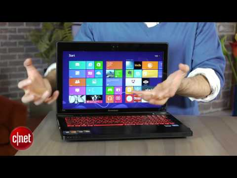 Lenovo IdeaPad Y500 hands-on