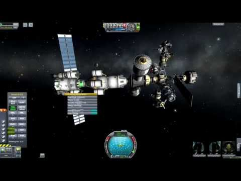 Kerbal Space Program - Reusable Space Program Episode 26 - Construction Disaster (FIXED VERSION)