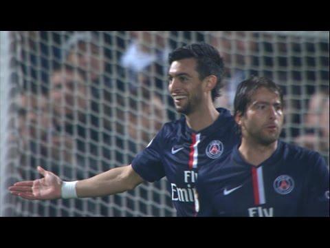 Le superbe but de Javier Pastore et son incroyable roulette de la 14ème journée de Ligue 1 / 2014-15
