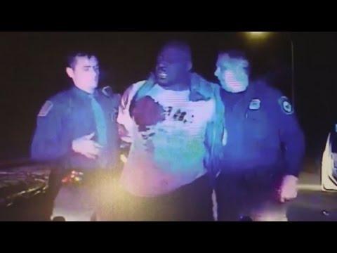 Shocking video shows police hitting man, raises questions