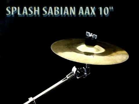 """Sabian AAX 10"""" Splash Cymbal"""