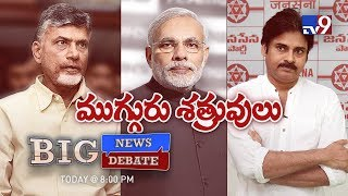 Big News Big Debate || BJP turns Pawan Kalyan against TDP? - Rajinikanth TV9