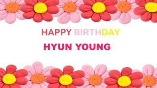 Hyun Young   Birthday Postcards & Postales