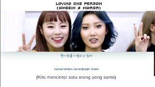 LIRIK/LYRICS 화사(HwaSa) 휘인(WheeIn) 김현철 - (Loving One Person) [HAN ROM INDO] TERJEMAHAN