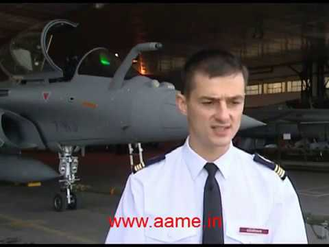 Dassault Rafale multi-role Fighter Aircraft - MMRCA contender [French]