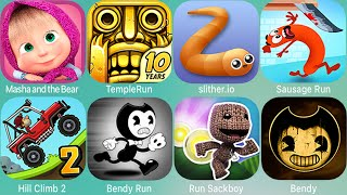 Super Mario Run,Temple Run,Sausage,Bendy Run,Teeny Titans,Masha,Ninja,Miraculoys,Rise Up,Ben