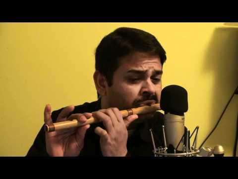 Tere Mere Hoton Pe (Mitwa) - Chandni - Flute Instrumental.MTS...