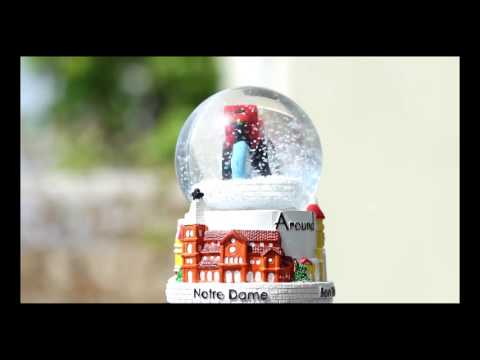 Snow globe of Ho Chi Minh City, Vietnam - Cyclo