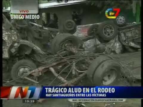 Video: las primeras imágenes del trágico alud en El Rodeo